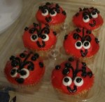 The ladybug cupcakes bought by Ashton