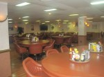 The officer's dining room on the USS Kearsarge