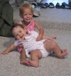 Lauryn and Karsen